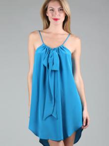 Пошив женского легкого платья.