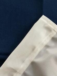 Пошив флага на заказ для боковой штанги с бортиком по периметру